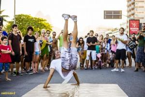 Atleta Voltz Street Diego no Flash Mob Voltz - Foto por FilipeMarques -IHateFlash